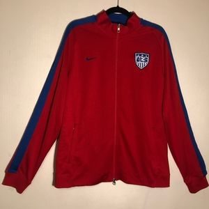 🍂Nike USA Soccer Sweater Jacket